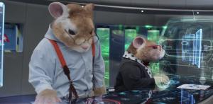 Hamster scientist