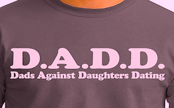For bland dads who want to make a sexist statement.