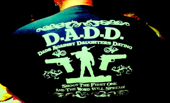For dads who feel the need to aggressively advertise their insecurities.