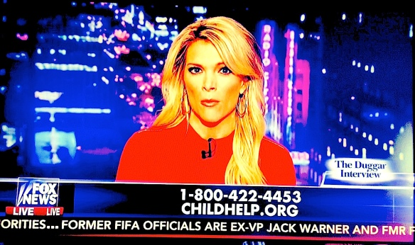 Megyn Kelly actually provides some information, urging viewers to call for help if their brother, or anyone else, is sexually abusing them.