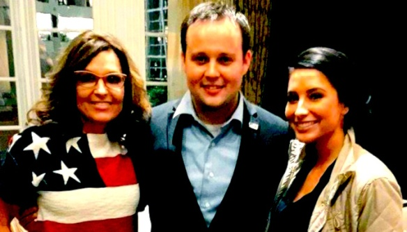 Who were the mystery women Josh Duggar hooked up with through Ashley Madison? Wild speculators want to know. (And watch the fingers there, Grabby!)