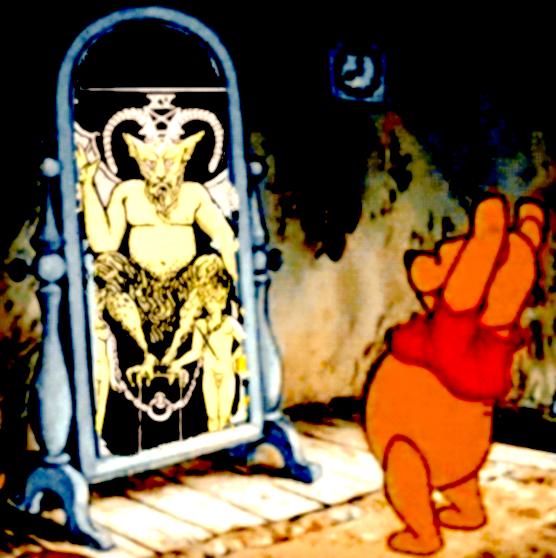 pooh-baphomet